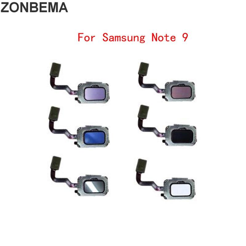 Touch ID Fingerprint Sensor Home Return Key Button Flex Cable For Samsung Galaxy Note 8 9 N950 N960
