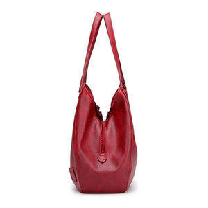 Image 2 - SMOOZA 2020 New Vintage Leather Luxury Handbags Women Bags Designer Bags Famous Brand Women Bags Large Capacity Tote Bags Sac