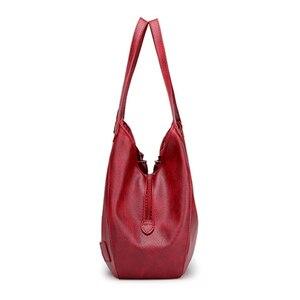 Image 2 - SMOOZA sacs à main Vintage en cuir pour femmes, sacoches de luxe de marque célèbre, Sac de grande capacité, fourre tout, nouvelle collection 2020