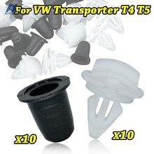 10x pour VW Transporter T4 T5 garniture panneau carte intérieur Clips tapis toit doublure caoutchouc œillets Kit de retenue remplacement automatique