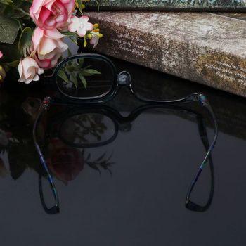 Women Makeup Reading Glasses Rotatable Flip Make Up Eye Glasses Presbyopic +1.00 To +4.0  2
