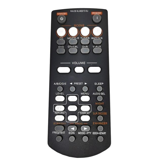 새로운 교체 RAV28 WJ40970EU Yamaha AV 증폭기 수신기 원격 제어 RAV34 RAV250 RX V361 RX V365 HTR 6030