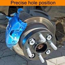 Автомобильные колеса прокладки 4x108 Hubcentric 63,4 мм Алюминий колесный разделитель адаптер 15/20/25/30 мм фланец из нержавеющей стали для форд фиеста ST Mk7 Separadores