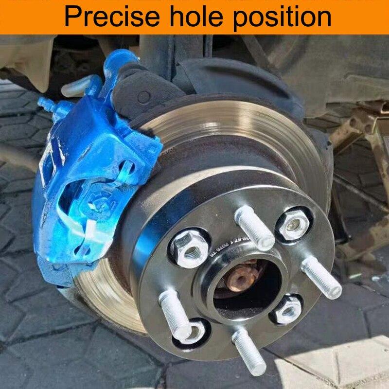 Mobil Wheel Spacer 4X108 Hubcentric 63.4 MM Aluminium Roda Spacer Adapter 15/20/25/30 MM Flange untuk Ford Fiesta ST Mk7 Separadores