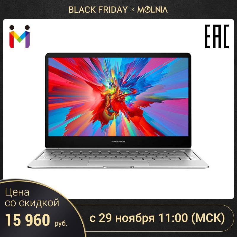 Ультратонкий ноутбук MAIBENBEN JinMai 6 13,3 FHD/ADS/1,3кг/14,5мм/Intel N4000/4ГБ/128ГБ SSD/Intel(R) HD Graphics 600/DOS