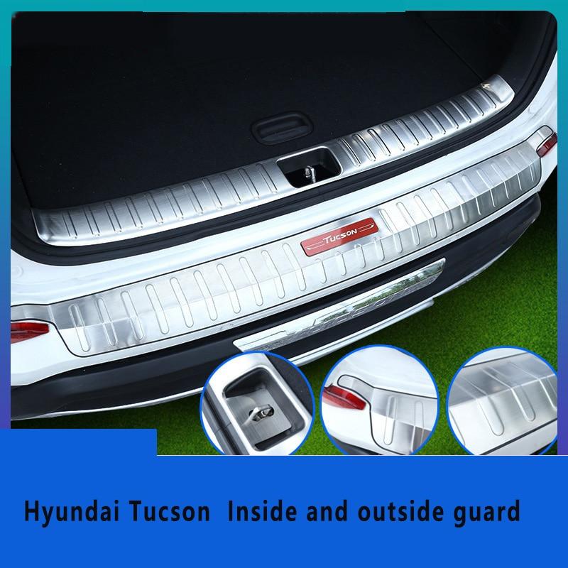 Hyundai Tucson 2004 Bumper Protector Lip Guard Cover