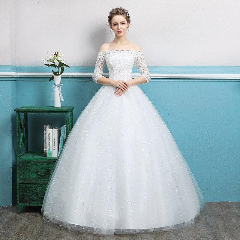 Vestidos De Festa Curto Promotion Sen Is A Wedding Dress The New 2020 Chun Xia Han Edition Neat, Favors Princess Bride Dream