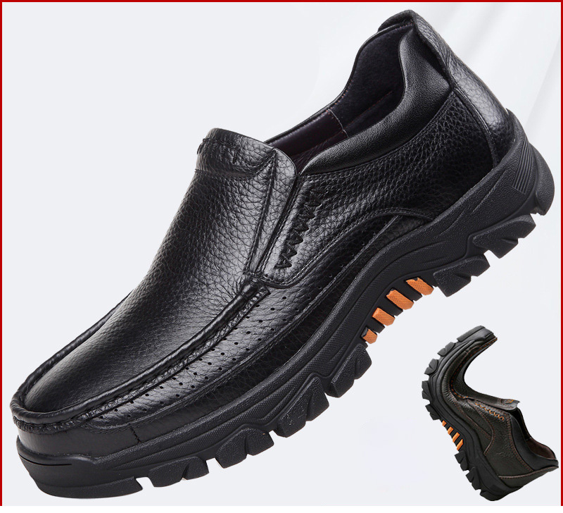 2020 Genuine Leather Shoes Men Loafers Soft Cow Leather Men Casual Shoes 2020 New Male Footwear Black Brown Slip-on A2088