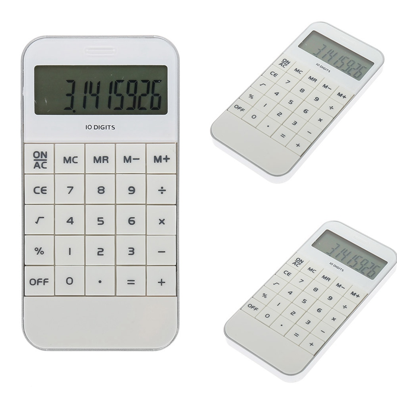 Simple Fashion Calculator Molding Calculator - 10 Digit Band Timing Function Students Stationery Math Calculating Tools