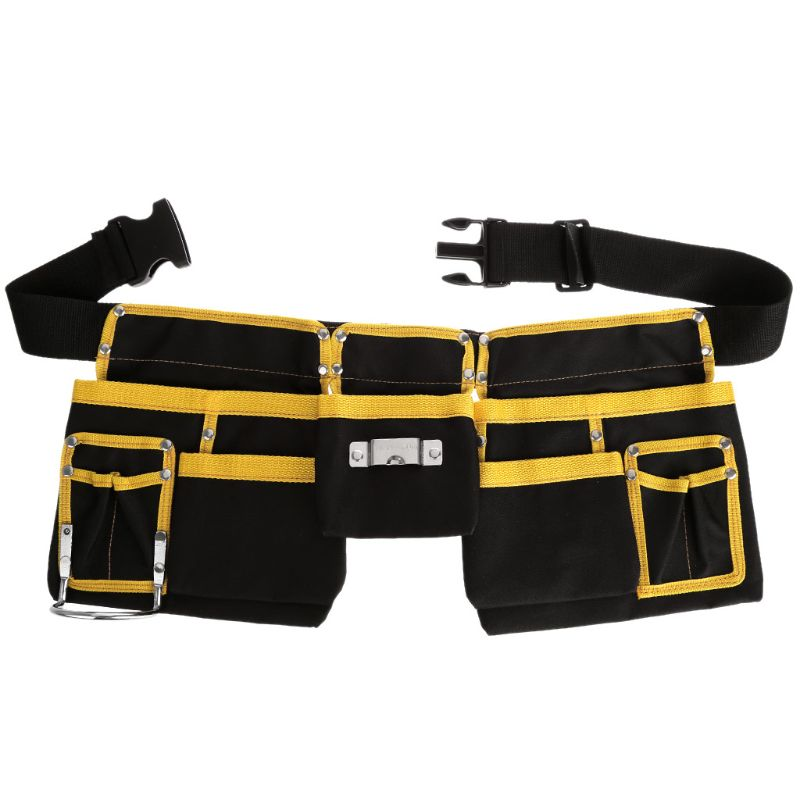 Multi-functional Electrician Tool Bag Waist Pouch Belt Storage Holder Organizer Electricians Tool Pouch Kit Bag
