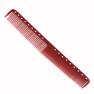 Image 4 - 4pcs/set Anti static Red Hairdressing Comb Detangling Platic Straightening Comb Barber Hair Different Design Combs Set DIY Home