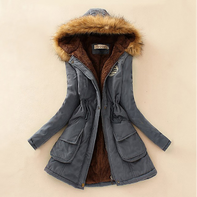 19 Parka Women Jacket Women Winter Coat Women Warm Hooded Women Parka Female Jacket Long Coat Parkas 16 Colour Free Shipping 21