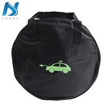 Khons evse ev bolsa de transporte para veículo, para carregador elétrico, cabos de carregamento, tomadas, equipamento de carregamento