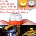 V16 утвержденный автомобильный маячок, аварийные огни, СВЕТОДИОДНЫЙ дорожный фонарь безопасности, мигающий аварийный фонарь, оранжевый стро...