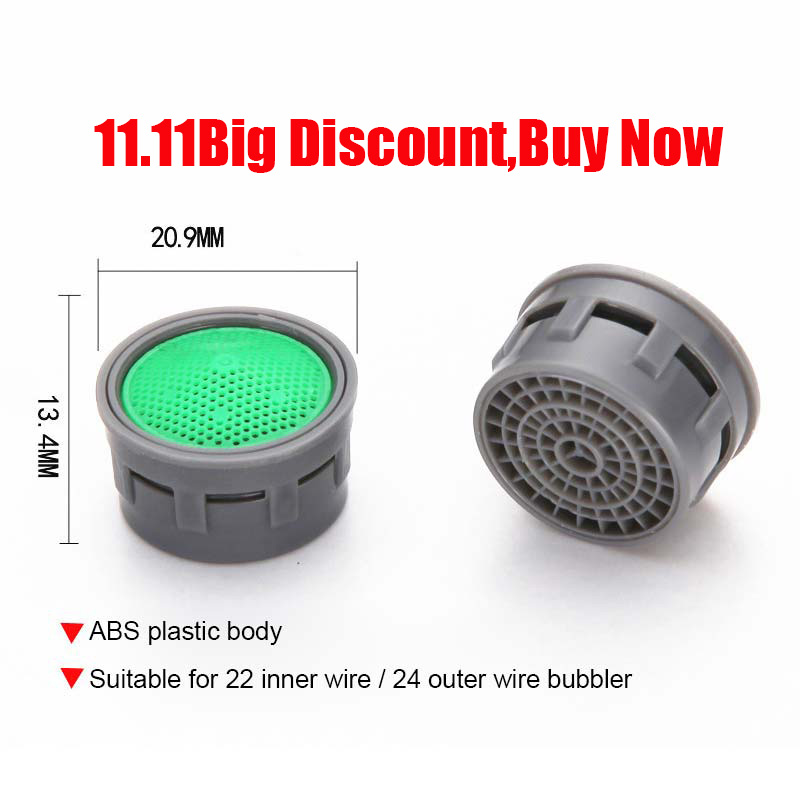 Christmas Decorations For Home 10pcs Water Saving Faucet Aerator Female Thread Tap Device Diffuser Faucet Nozzle Filter Adapter