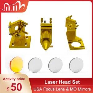Image 1 - K40 serie: CO2 Laser Testa Set Incisore Laser per 2030 4060 K40 Incisione Laser Macchina di Taglio