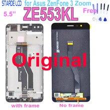 Original Neue LCD Für ASUS Zenfone 3 Zoom ZE553KL Z01HDA LCD Display Touchscreen Digitizer Amoled 5.5