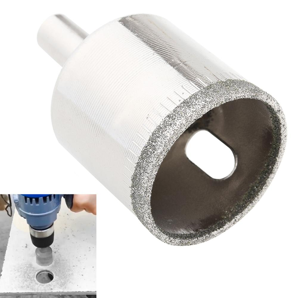 26mm 28mm 30mm 35mm 40mm 50mm Diamond Core Hole Saw Drill Bit Kit Glass Drill Hole Opener Tools For Tiles Glass Marble Ceramic