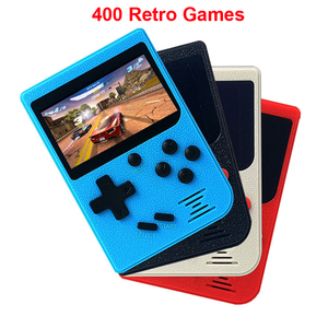 Portable 3 Inch Game Console 400 Retro Games In 1 Classic 8 Bit Handheld Game Console LCD Color Screen for Boys Gifts