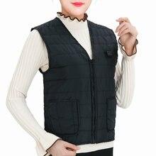 Куртка с подогревом аксессуары для пеших прогулок теплый жилет
