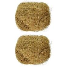 Стерилизованная практичная садовая почва маленькие горшки для домашних животных хорошая проницаемость кокосовое волокно корень рост птицы гнезда зеленое растение бонсай