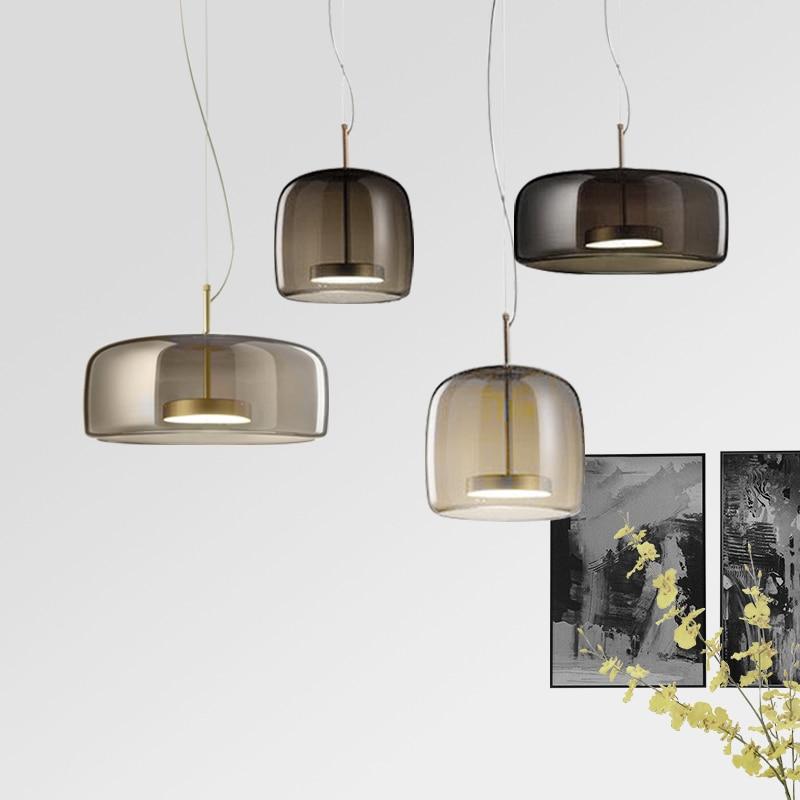 Luminaria Pendente Lampen Industrieel Glass  LED  Pendant Lights  Living Room  Hanglamp  Lustre Pendente