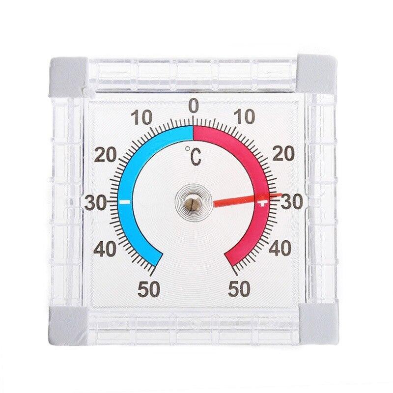 1pc nova temperatura termômetro janela interior ao ar livre parede jardim casa graduada medição de disco venda quente