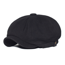 Vintage Newsboy Cap Cotton Men Woman Fashion Hat Solid Soft Gatsby Retro Driver Flat Caps Spring Autumn Casual Beret Cap