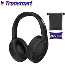 Tronsmart Apollo Q10 Bluetooth 5.0 Hoofdtelefoon Active Noise Cancelling Draadloze Headset With100-hour Speeltijd, Touch/App Controle