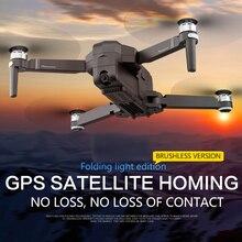 Zangão sem escova da câmera de gps de otpro f1 com wifi fpv 1080 p quadcopter 25 minutos de controle do gesto do tempo do vôo drones dobráveis do dron rc