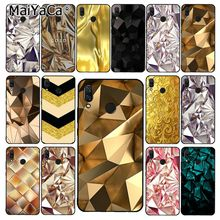 MaiYaCa Black And Gold Diamond Phone Case for Xiaom