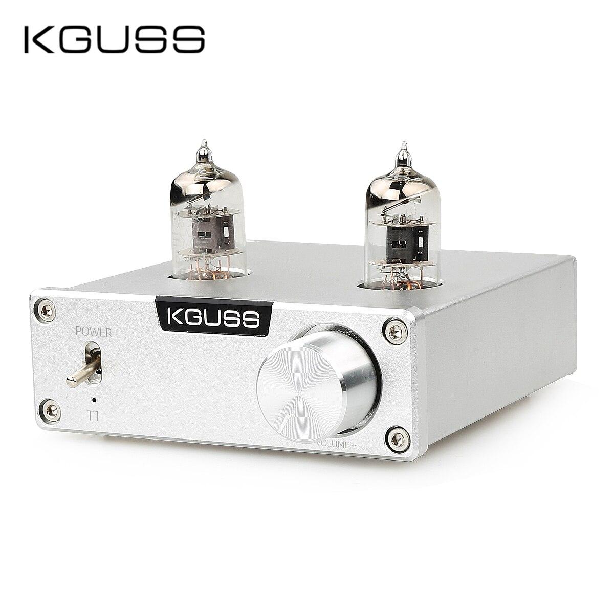 KGUSS T1 6J1 Bile Preamp MINI HIFI Preamplifier Tube Amplifier