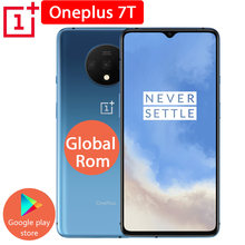 Smartphone oneplus 7t 8gb + 128gb global, celular com snapdragon 855, núcleo octa core, tela amoled, 90hz, câmeras de 48mp câmeras triplas ufs 3.0 nfc