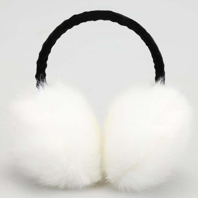 VIIANLES Warmer Earmuffs Cat Ear Muffs Earlap Package Headband Winter Earmuff Imitation Rabbit Fashion Women Girl Fur Winter Ear