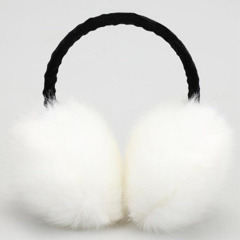 VIIANLES Warmer Earmuffs Cat Ear Muffs Earlap Package Headband Winter Earmuff Imitation Rabbit Fashion Women Girl Fur Winter Ear