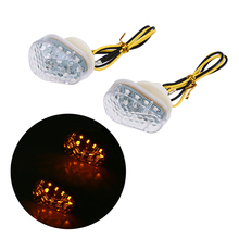 1 Pair Motorcycle Turn Signal Light LED Amber Indicator Lamp For Suzuki GSXR 600 750 2001-2005 2004 2003 motorcycle hot red fire fairing body work cowling for suzuki gsxr600 750 gsxr 600 750 k4 2004 2005 4 gift