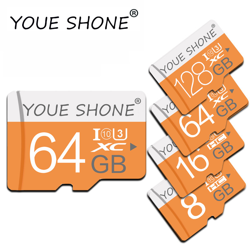 Memory Card Micro Sd Card 128GB 64GB 32GB 16GB 8GB 4GB Upgrading High Quality TF Card For Smart Phone With Free Adapter