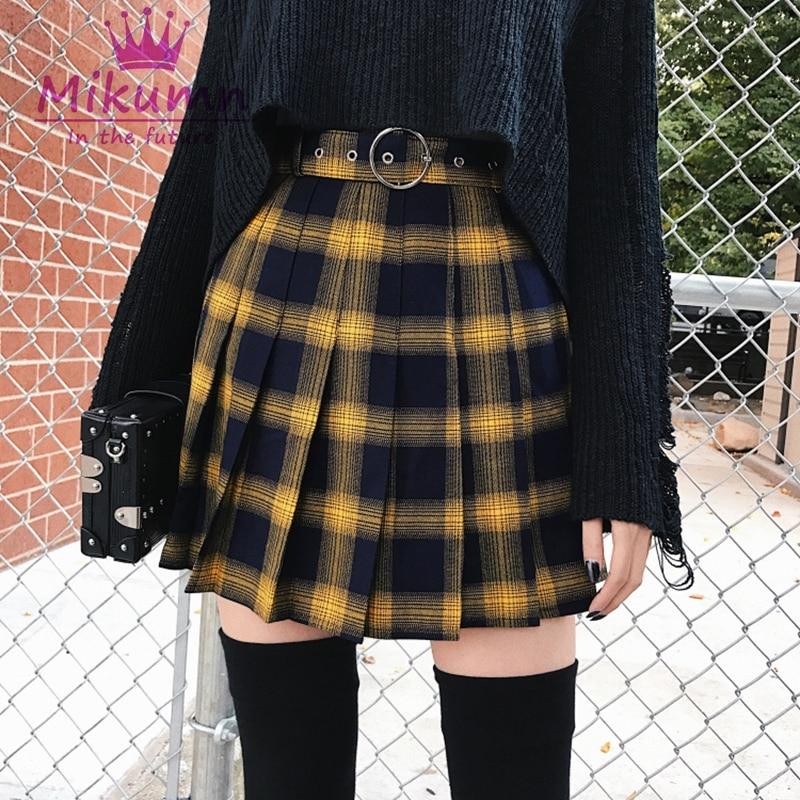 plus size tennis skirt spiked high waist skirt Black gothic pleated skirt grunge skirt goth school mini skirt plus size gothic clothing