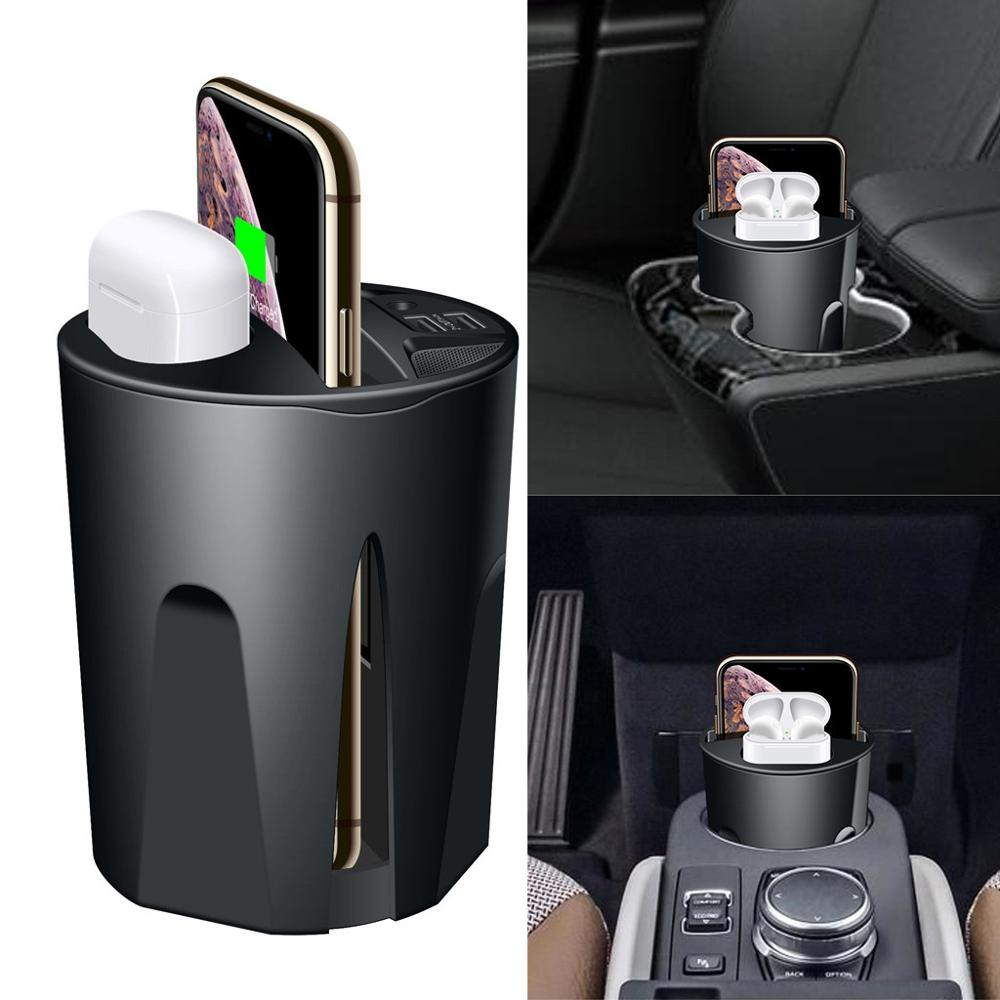 696 X9 QI <font><b>Car</b></font> Wireless fast <font><b>Charger</b></font> cup for iphone Charge holder Charge Stand for Apple XS MAX/XR/X/8 PLUS for <font><b>samsung</b></font> note10/9 image