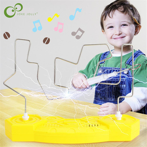 1Set Kids Collision Electric Shock Toy Education Electric Touch Maze Game Party Funny Game Children Kids Study Supplies Toys YJN