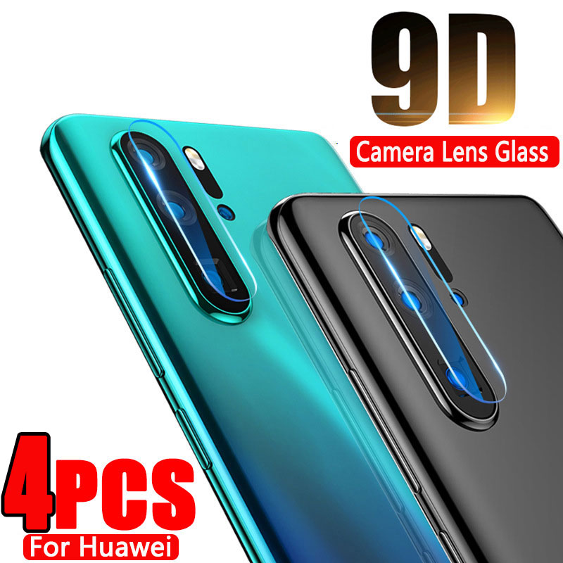 4-1PCS Camera Lens Tempered Glass For Huawei P30 P20 Lite Pro Mate 20 30 Lite Pro Protective Screen Protector For Huawei P30 20