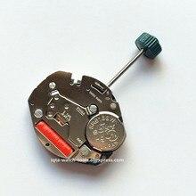 Movimiento de reloj de cuarzo suizo onda 1069, 2 puntadas y media con vástago ajustable, pieza de reparación, accesorios, nuevo