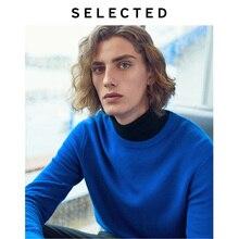 اختيار الخريف البلوفرات الملابس طويلة الأكمام الرجال الياقة المستديرة الترفيه محبوك سترة قميص S