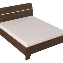 Кровать Донна 107 (08 Дуб темный, ЛДСП, 08 Дуб темный, 1600х2000 мм) Стайлинг