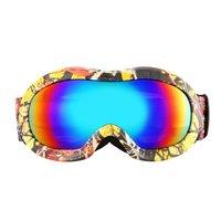 Детские лыжные очки с двойными линзами, противотуманные, UV400, для спорта на открытом воздухе, лыжные очки, снежные, сноуборд, защитные очки, о...
