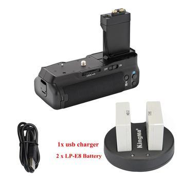 MeiKe MK-550D/BG-E8/BP-550D Battery Grip for Canon 550D/Rebel T2i/Kiss X4 600D/Rebel T3i/Kiss X5 650D/Rebel T4i/Kiss X6i фото