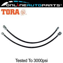 Details about Extended Brake Lines Hose Kit fits 2 #8243 -5 #8243 spring lift Nissan Patrol GQ Y60 GU Y61 Nissan motor cortex cheap Brake tube Brake Lines Hose Kits Rubber 67cm 1988-2010 4 Extended 2yr 50 000km