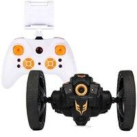 Радиоуправляемая машина с камерой HD 2.0mp горячая Распродажа WIFI прыгающий автомобиль PEG SJ88 4CH 2 4 GHz Jumping Sumo с гибкими колесами дистанционное упр...