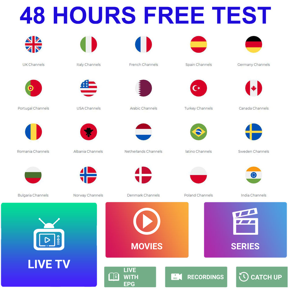 IPTV Subscription FULL HD Sports IPTV Europe French Italain Polish UK Germany Arabic Iptv Code Sports Adults Channel Xxx