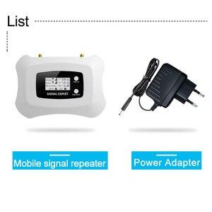Image 2 - 4G Lte 800 Netwerk Signaal Repeater Band 20 Lcd Display 70dB Gain Band 20 4G Lte Mobiele Telefoon Signaal versterker Lte 800 Mhz Booster